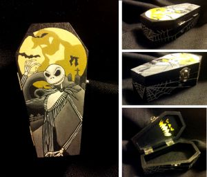 Jack Skellington Coffin